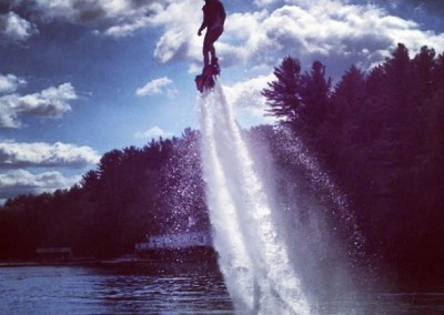 Sunset Flyboard