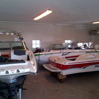 Summer Water Sports Boat Storage