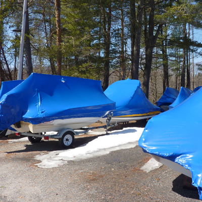 Summer Water Sports Boat Storage