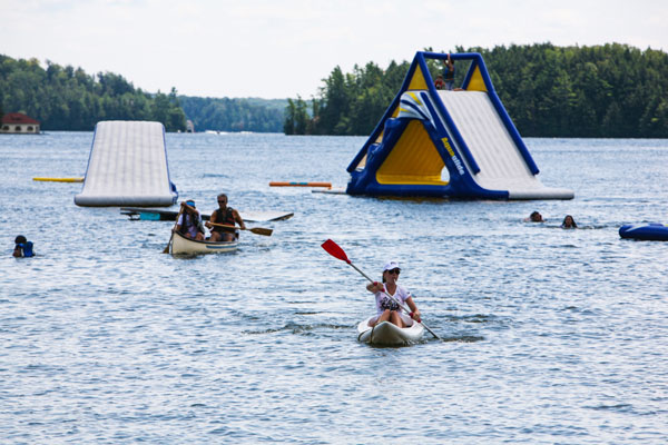 Summer Water Sports Waterfront