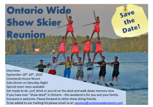 Muskoka Fall In-Water Show @ SWS Boatworks | Port Carling | Ontario | Canada
