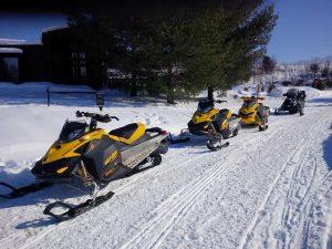 Snowmobile Rentals in Muskoka