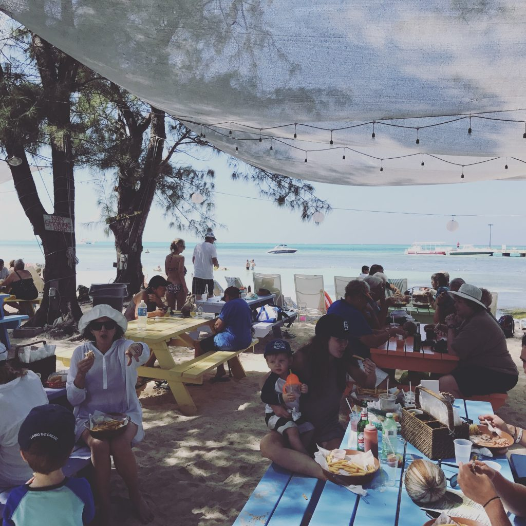 Lunch at Rum Point