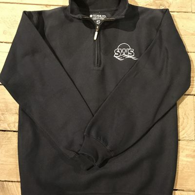 Summer Water Sports Quarter Zip Sweatshirt