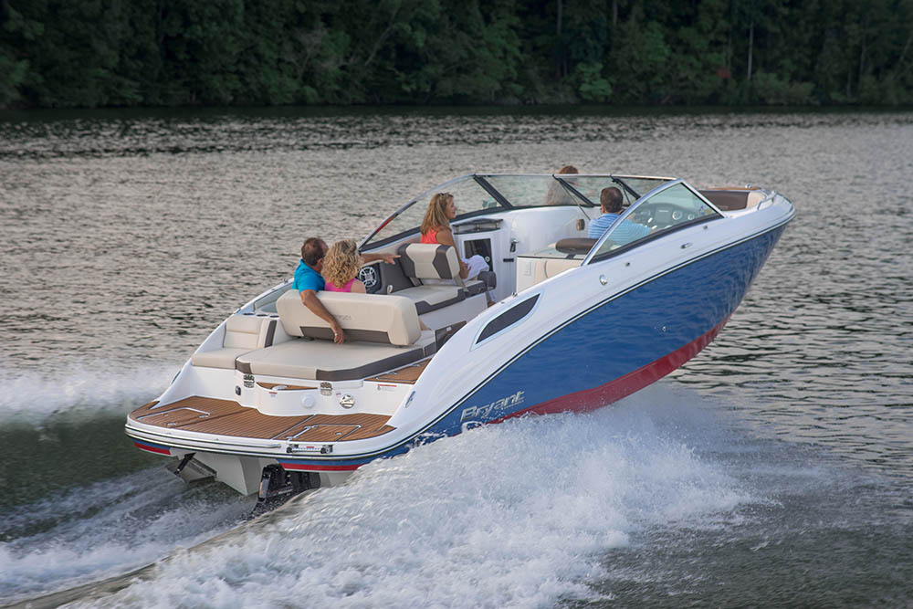 Bryant Potenza Boat at Summer Water Sports